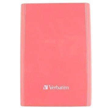 Verbatim Store 'n' Go Ulkoinen Kiintolevy 500Gt Pinkki