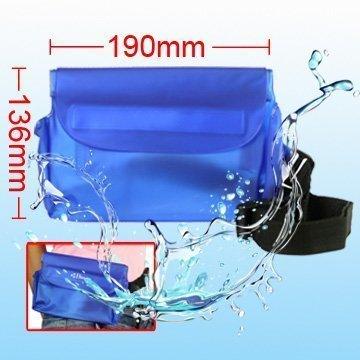 Vesitiivis Laukku Mobiililaitteille Sininen Koko: 19cm X 13.6cm