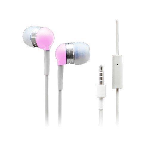 Wallytech Whf-065 Pinkki Nappikuulokkeet Mikrofonilla