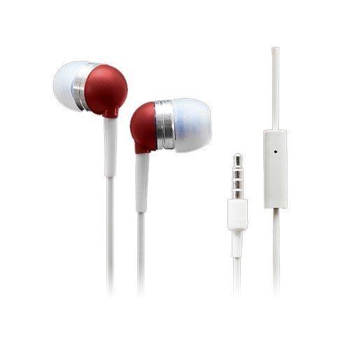 Wallytech Whf-065 Punainen Nappikuulokkeet Mikrofonilla