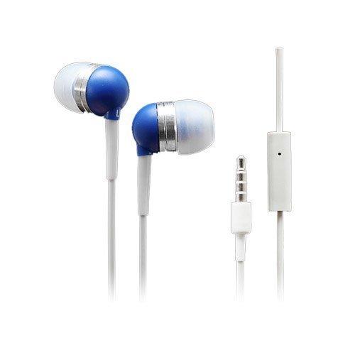 Wallytech Whf-065 Sininen Nappikuulokkeet Mikrofonilla