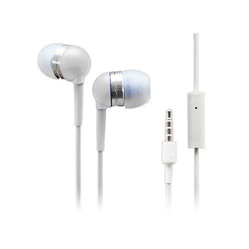 Wallytech Whf-065 Valkoinen Nappikuulokkeet Mikrofonilla
