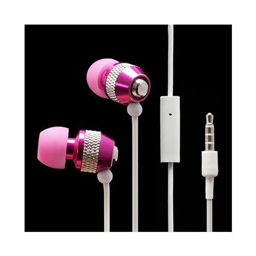 Wallytech Whf-081 Pinkki Nappikuulokkeet Mikrofonilla