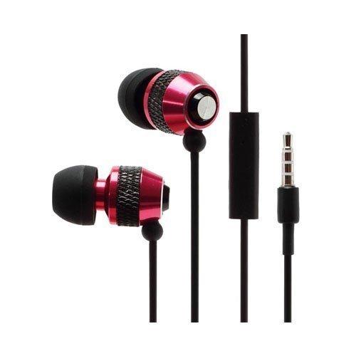 Wallytech Whf-081 Punainen Nappikuulokkeet Mikrofonilla