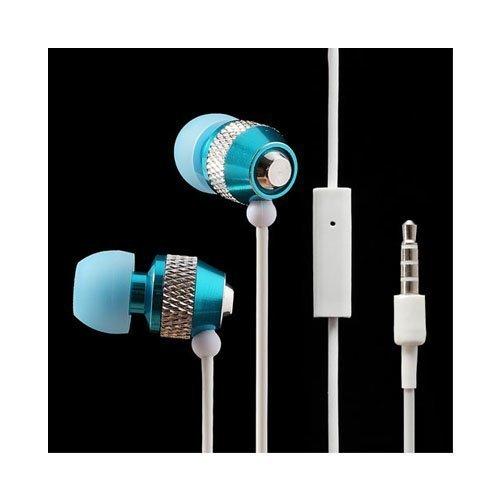 Wallytech Whf-081 Sininen Nappikuulokkeet Mikrofonilla