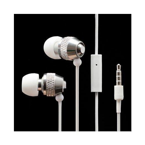 Wallytech Whf-081 Valkoinen Nappikuulokkeet Mikrofonilla