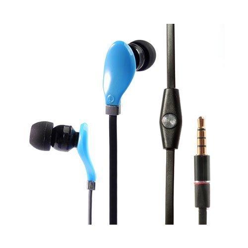 Wallytech Whf-108 Sininen Nappikuulokkeet Mikrofonilla
