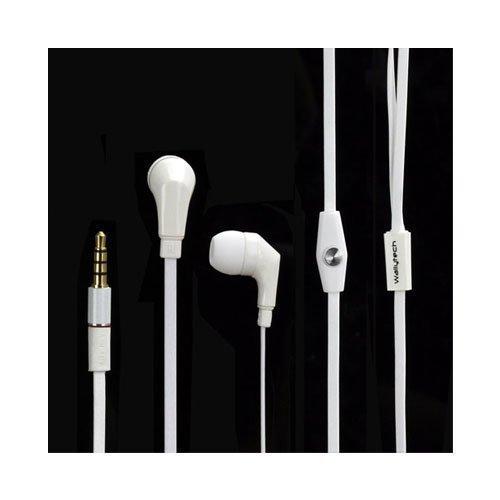 Wallytech Whf-111 Valkoinen Nappikuulokkeet Mikrofonilla