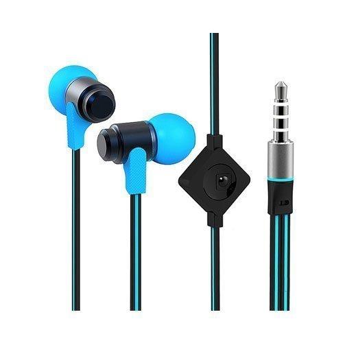 Wallytech Whf-116 Sininen / Black Nappikuulokkeet Mikrofonilla