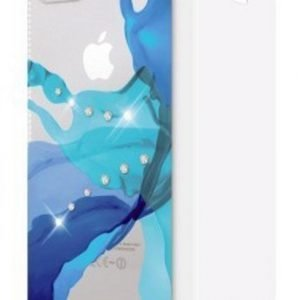 White Diamonds Liquids Booklet for iPhone 5/5S Blue