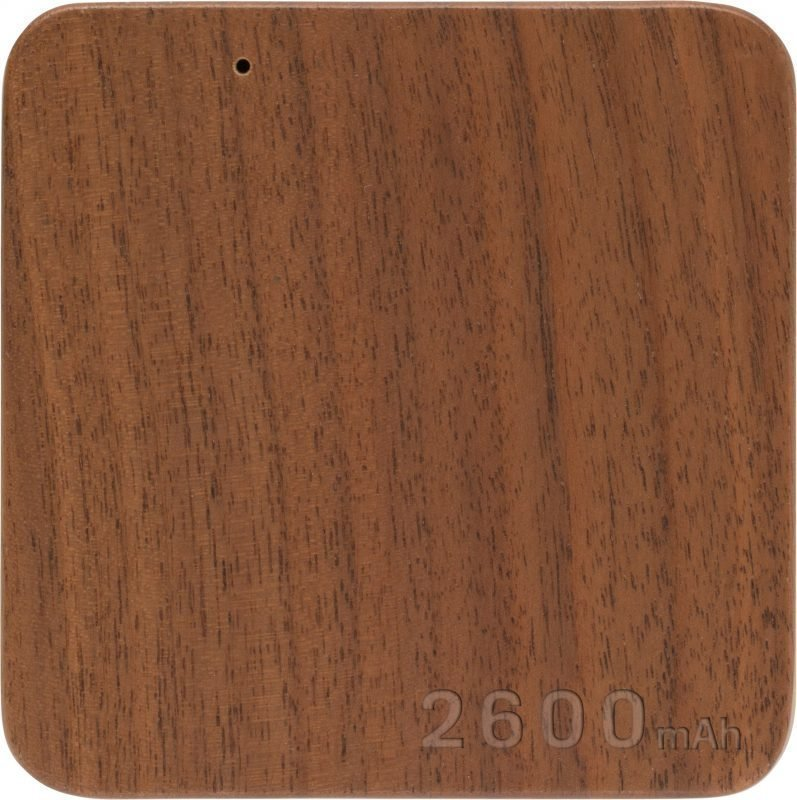 Wood Power Bank 2600mAh