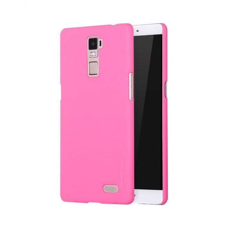 X-Level Oppo R7 Plus Ohut Kuminen Kuori Vaalea Pinkki