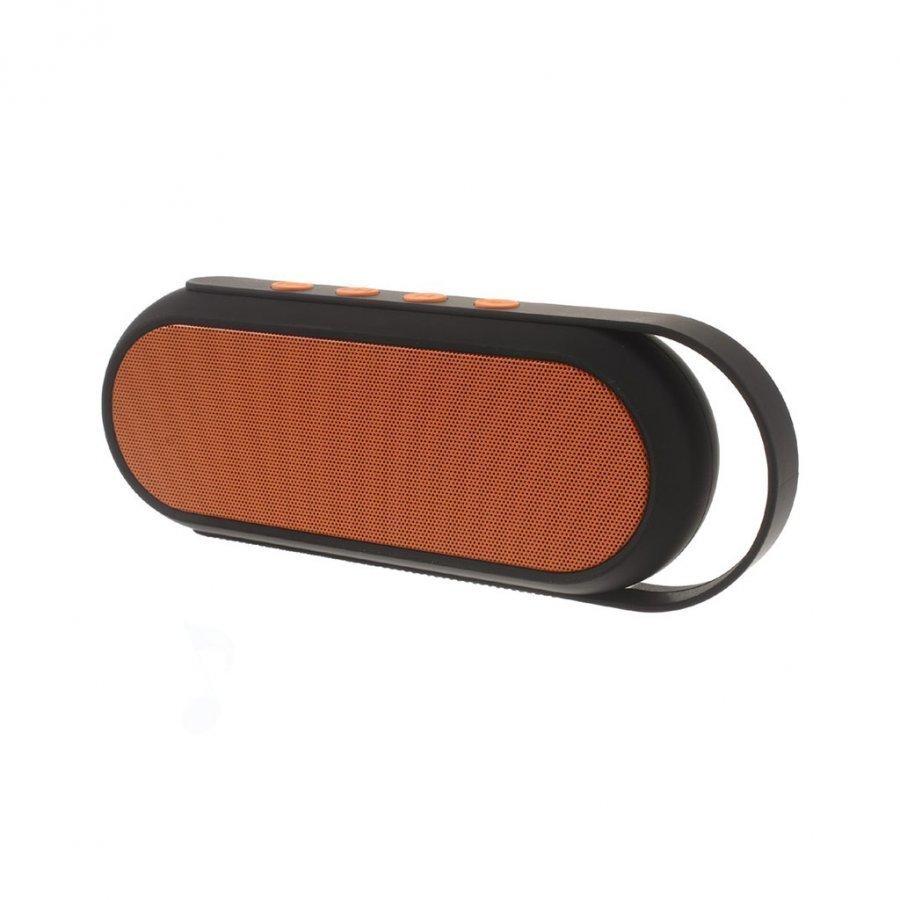 Xc-24 Kaksois-Torvi Handsfree Bluetooth Kaiutin Kahvalla Oranssi