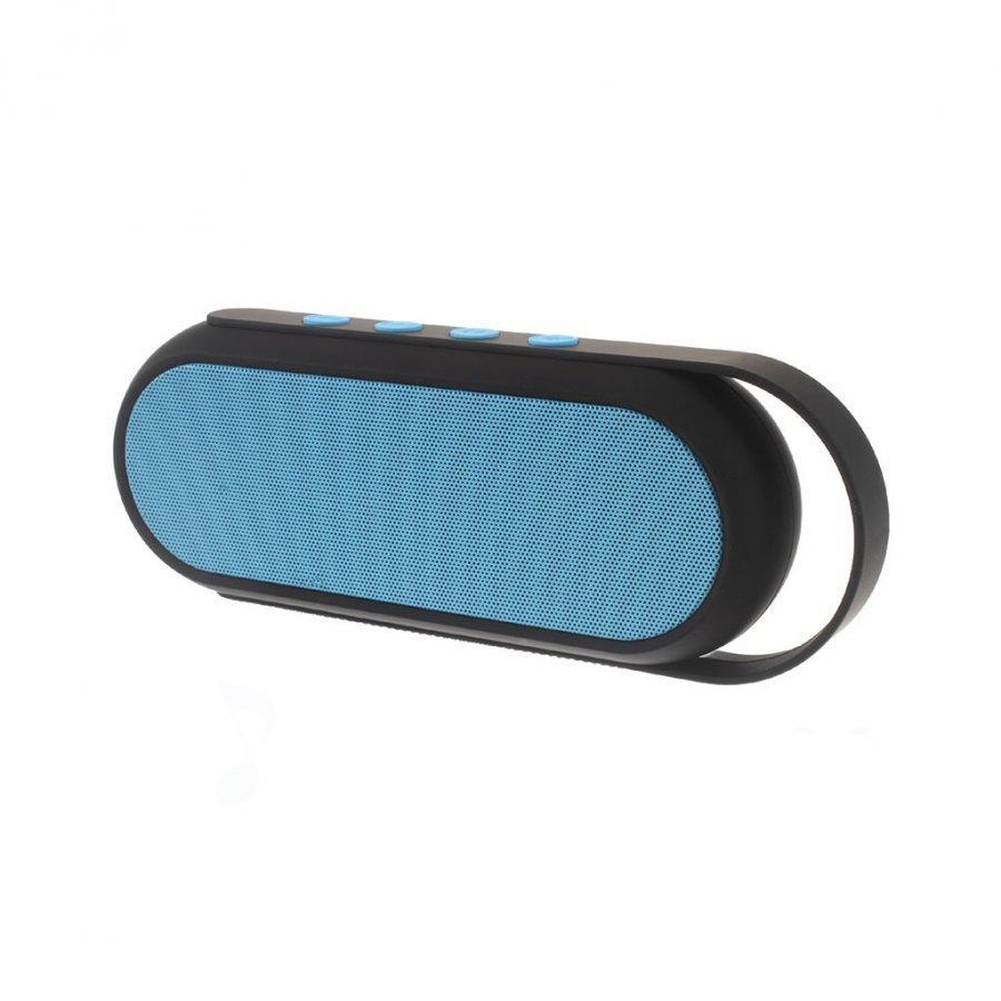 Xc-24 Kaksois-Torvi Handsfree Bluetooth Kaiutin Kahvalla Sininen