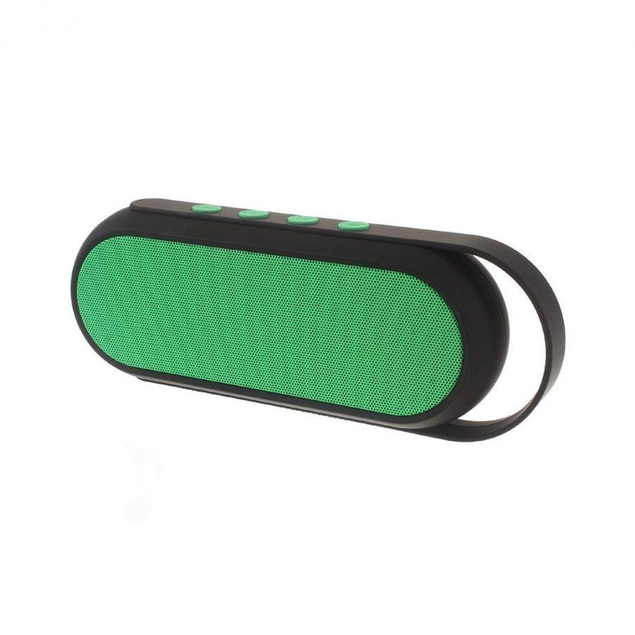 Xc-24 Kaksois-Torvi Handsfree Bluetooth Kaiutin Kahvalla Vihreä