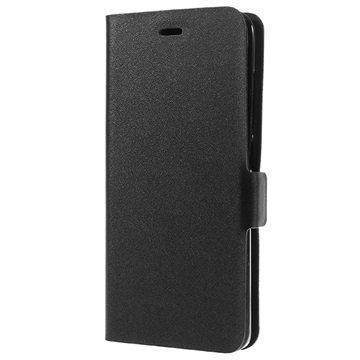 Xiaomi Mi 5 Doormoon Nahkainen Lompakkokotelo Musta
