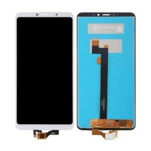 Xiaomi Mi Max 3 Näyttö Valkoinen