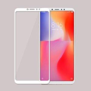 Xiaomi Mi Max 3 Panssarilasi 2.5d Full Cover Valkoinen