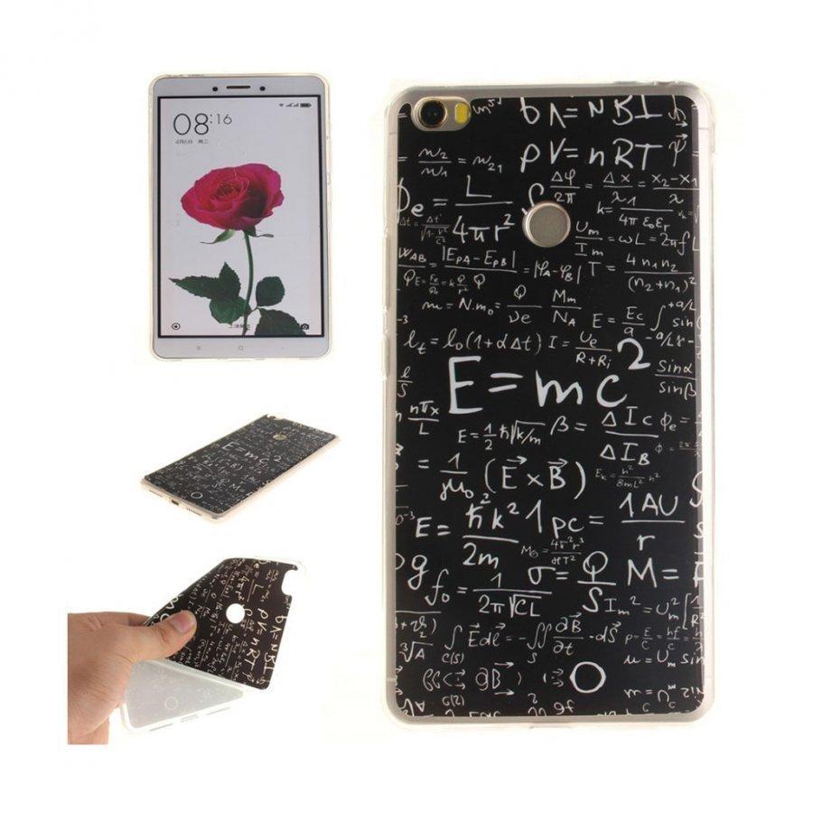 Xiaomi Mi Max Pehmeä Joustava Muovikuori Matemaattiset Symbolit