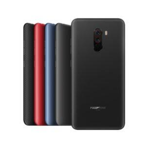 Xiaomi Pocophone F1 Takakansi Musta