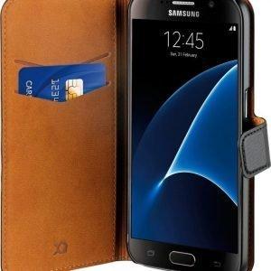 Xqisit Slim Wallet Selection Samsung Galaxy S7 Black
