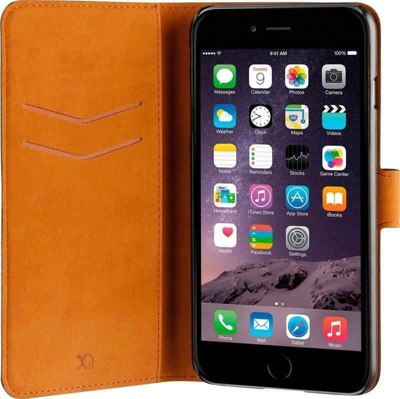 Xqisit Slim Wallet Selection iPhone 7 Plus Black