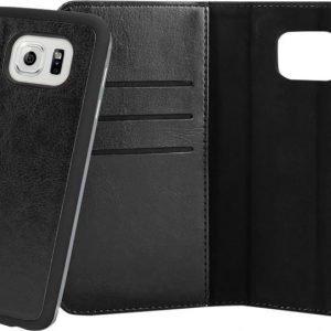 Xqisit WalletCase Eman Samsung Galaxy S6 Edge Black