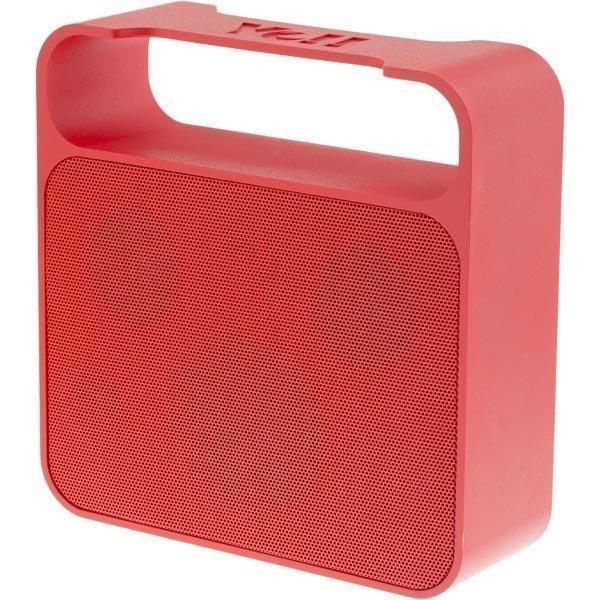 Ye!! BTS900 kaiutin jossa Bluetooth NFC sisäänrak. akku punaine