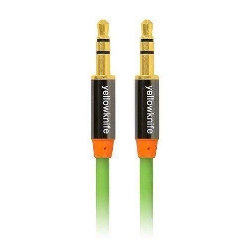 Yellowknife Vihreä 1.5m Uros Uros Audiokaapeli