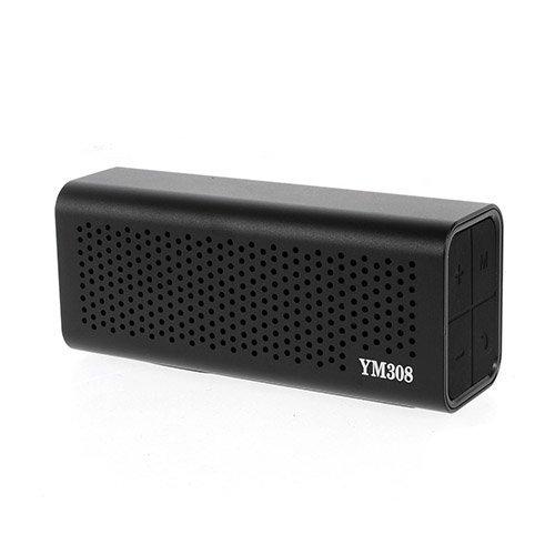 Ym-308 Bluetooth Kaiutin Mikrofonilla Musta