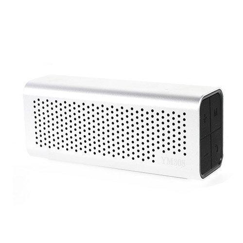 Ym-308 Bluetooth Kaiutin Mikrofonilla Valkoinen
