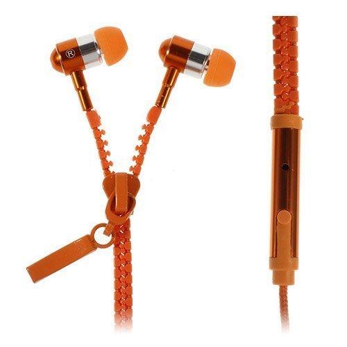 Zipper Kuulokkeet Oranssi Mikrofonilla