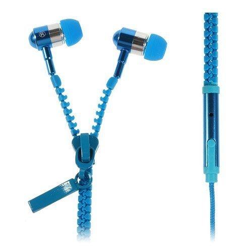 Zipper Kuulokkeet Sininen Mikrofonilla