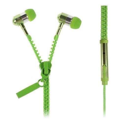 Zipper Kuulokkeet Vihreä Mikrofonilla