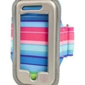 chicBuds Fiesta Stripe Armbands for iPhone® (127x25.4x6.35mm) Multicolored