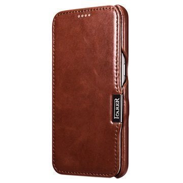 iCarer Vintage Series Leather Case for Samsung Galaxy S7 Brown