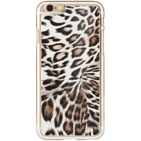 iDeal Hard Cover+ Design Collection Leopard iPhone 6 kuori