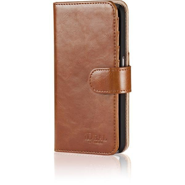 iDeal Premium PU Magnet Wallet+ Samsung Galaxy S6 ruskea