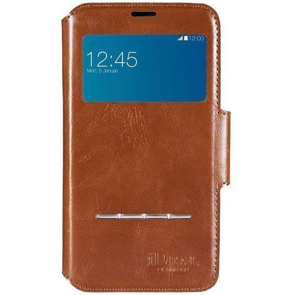iDeal Samsung S5 Brun Premium PU Swipe Wallet