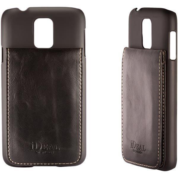 iDeal Smart Case muovikuori Samsung Galaxy S5:lle musta