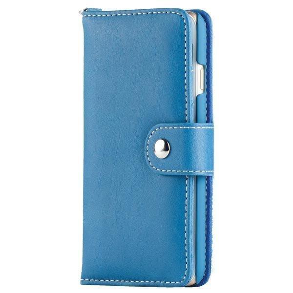 iDeal Wallet suojus/lompakko tekonahkaa iPhone 6 kaulanauha sin