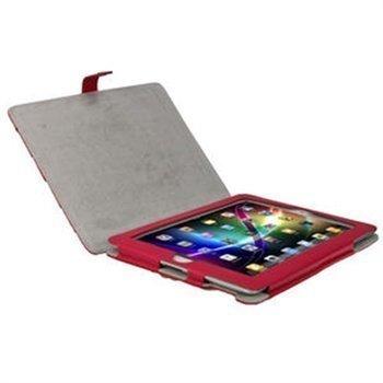 iGadgitz Armourdillo Nahkakotelo iPad 2 iPad 3 iPad 4 Pinkki