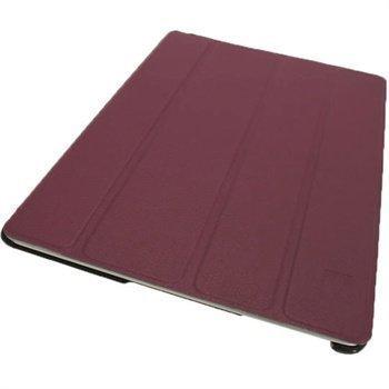 iGadgitz Mate Plus Nahkakotelo iPad 2 iPad 3 iPad 4 Purppura