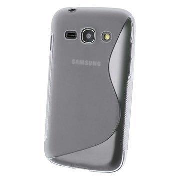 iGadgitz S Line TPU Kotelo Samsung Galaxy Ace 3 S7270 S7275 S7272 Kirkas