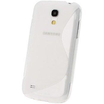 iGadgitz S-Linja TPU-Suojakotelo Samsung Galaxy S4 Mini I9190 I9192 I9195 Selkeä