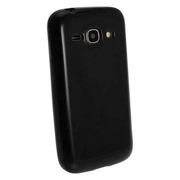 iGadgitz TPU Kotelo Samsung Galaxy Ace 3 S7270 S7275 S7272 Musta