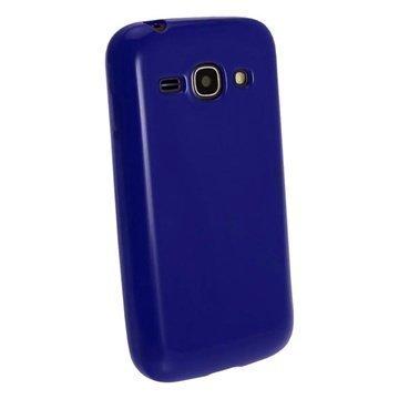 iGadgitz TPU Kotelo Samsung Galaxy Ace 3 S7270 S7275 S7272 Sininen