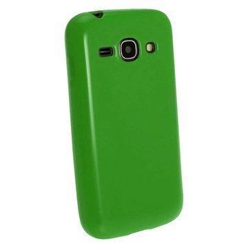 iGadgitz TPU-Kotelo Samsung Galaxy Ace 3 S7270:lle S7275:lle S7272:lle Vihreä