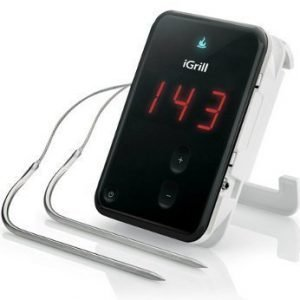iGrill Cooking Thermometer for iOS & Android Black