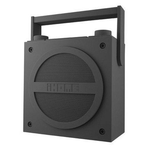 iHOME iBT4 FM BoomBox Grey